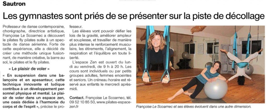 Article ouest france 19 mars